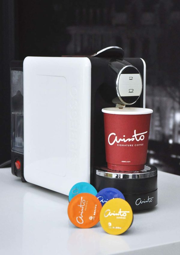 arissto italian premium coffee machine happy maker