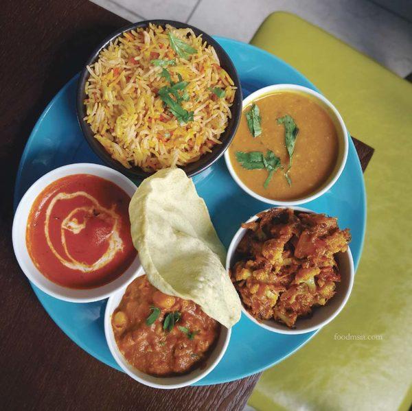 bangle publika northern indian restaurant thali premium set lunch