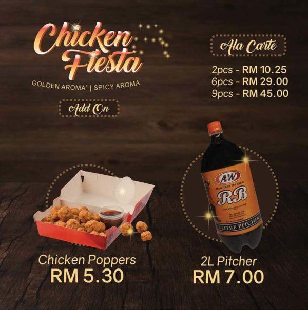 chicken fiesta anw malaysia add on