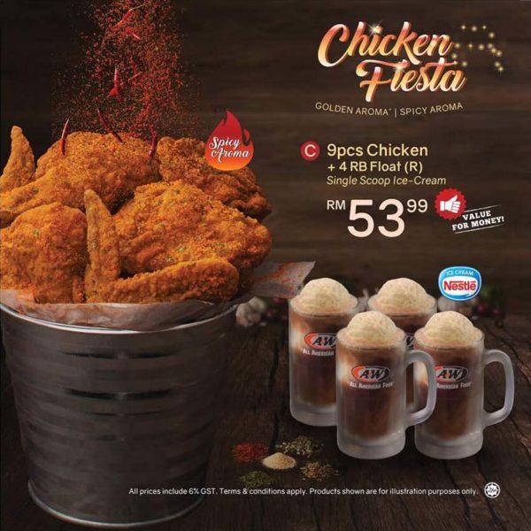 chicken fiesta anw malaysia set c promo