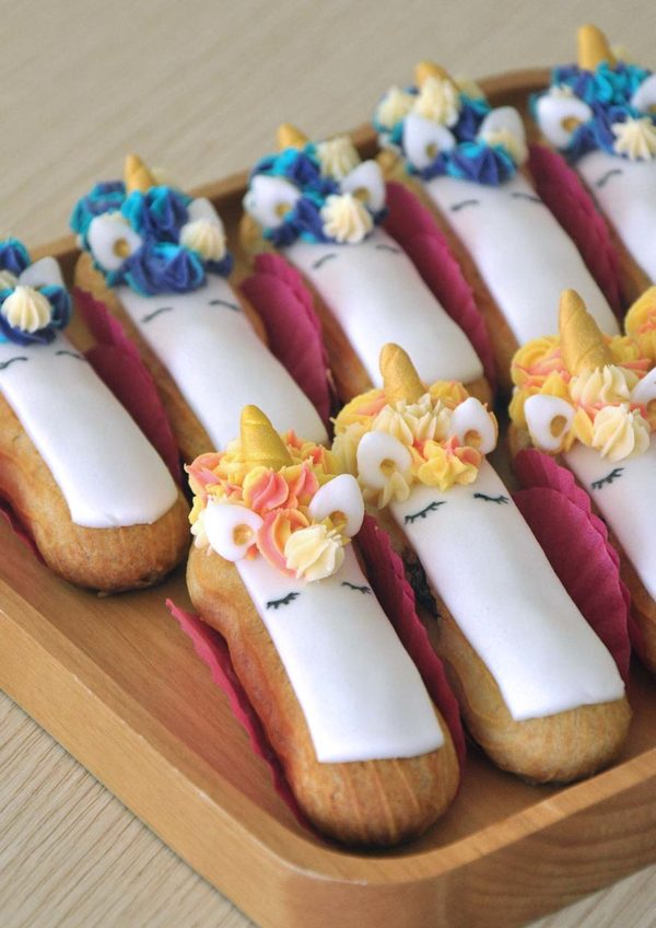 eat cake today online ordering unicorn eclairs project cake therapy