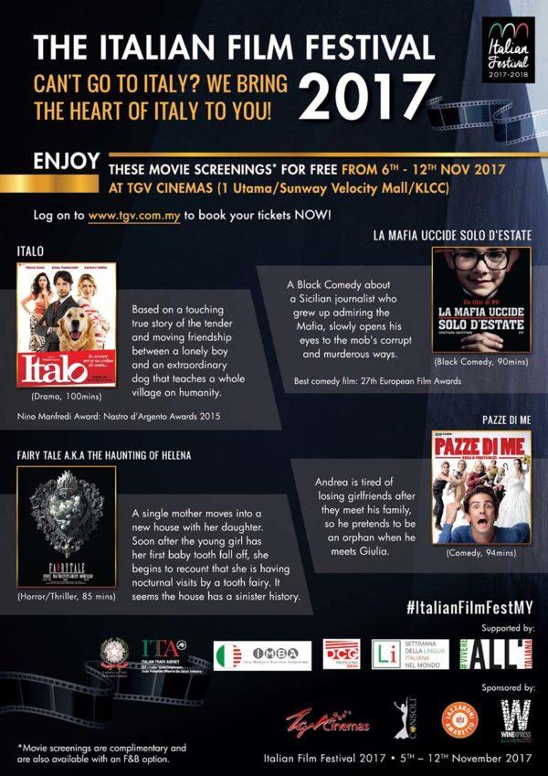 italian film festival tgv cinemas free movies