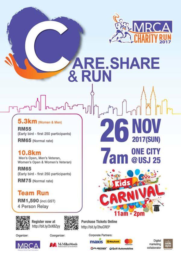 mrca charity carnival run 2017 poster