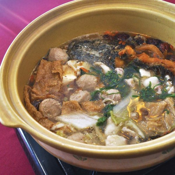 restaurant golden court chinese cuisine sri petaling snakehead soup