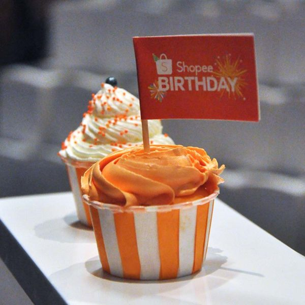 shopee 2nd anniversary celebration birthday cake