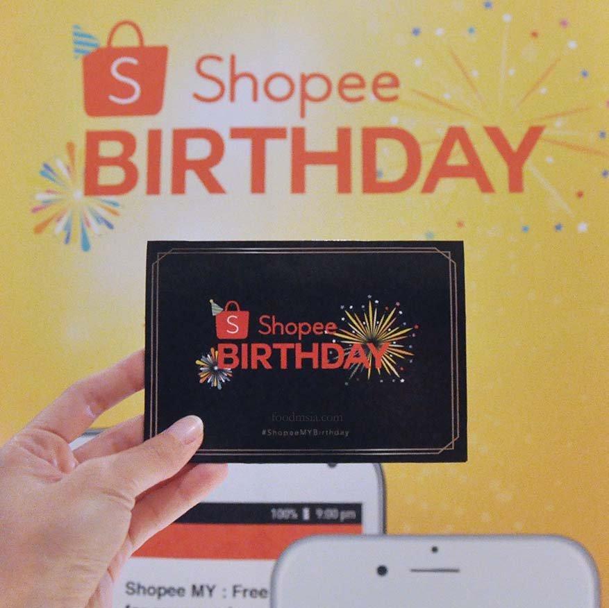 Shopee Celebrates Birthday With Massive Promotions
