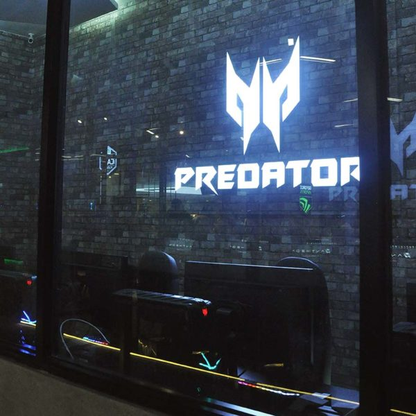 the pantheon nvidia platinum esports arena one space one city predator experiential room