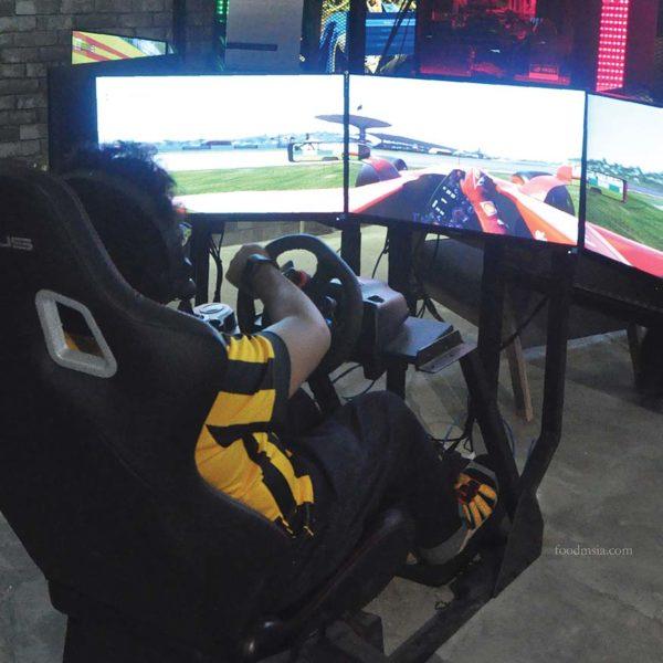 the pantheon nvidia platinum esports arena one space one city racing simulator