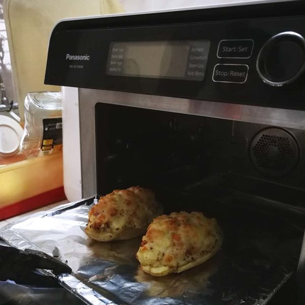 u.s. potatoes baked cheese recipe panasonic cubie oven