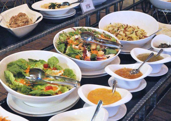 wow kl matic jalan ampang salad appetizer