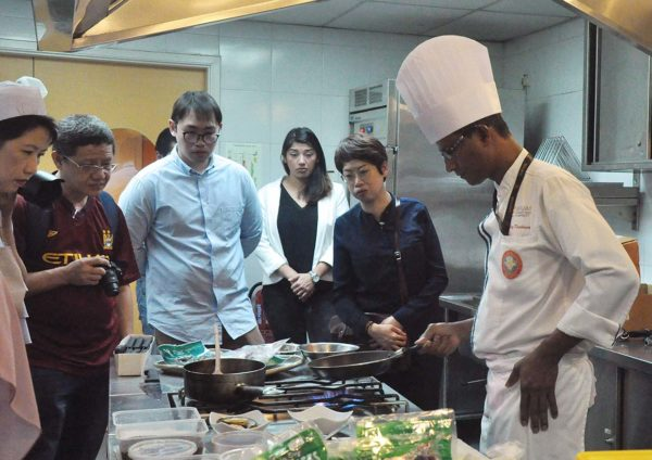 aeon taste new zealand food fair chef krishnan berjaya university college