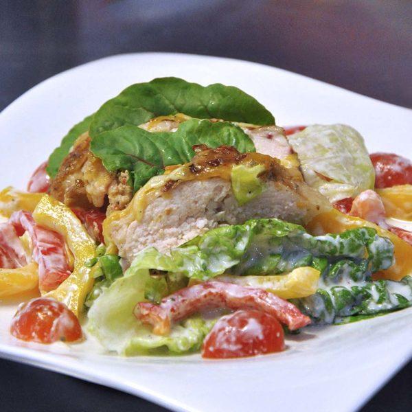chefology mccormick blogger meet and greet cheesy black pepper chicken salad