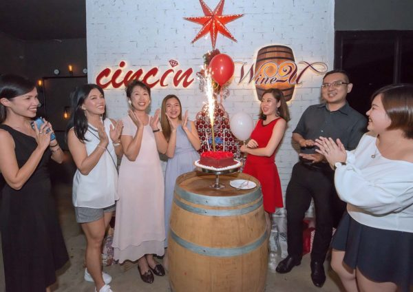 cincin restaurant wine bar and grill celebration party