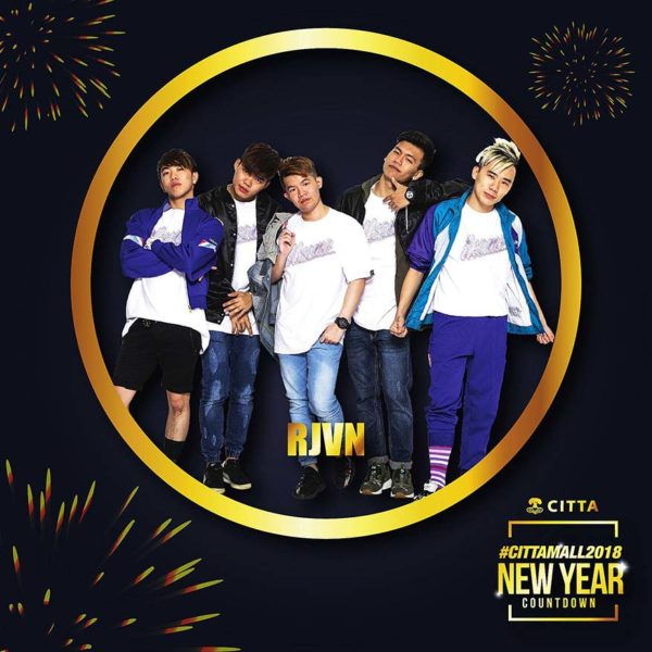 citta mall ara damansara new year countdown 2018 rjvn