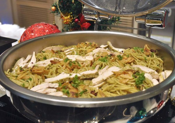 coffee house sunway putra kuala lumpur christmas new year buffet pesto pasta