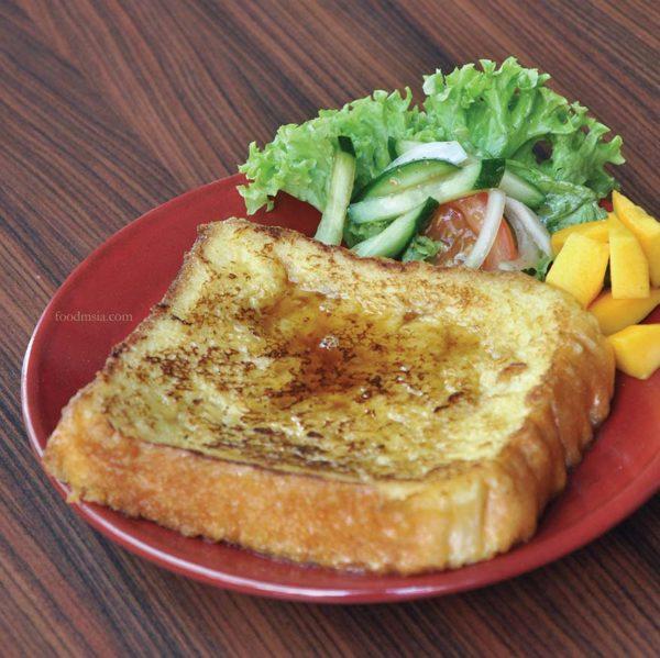hachi bakery cafe plaza damas sri hartamas japanese bread french toast