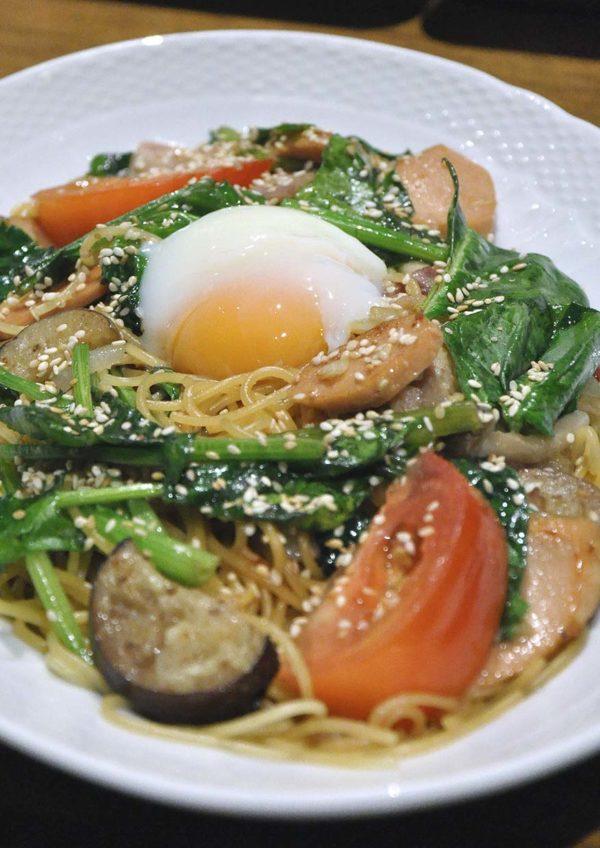 hoshino coffee japanese cafe mid valley malaysia spaghetti