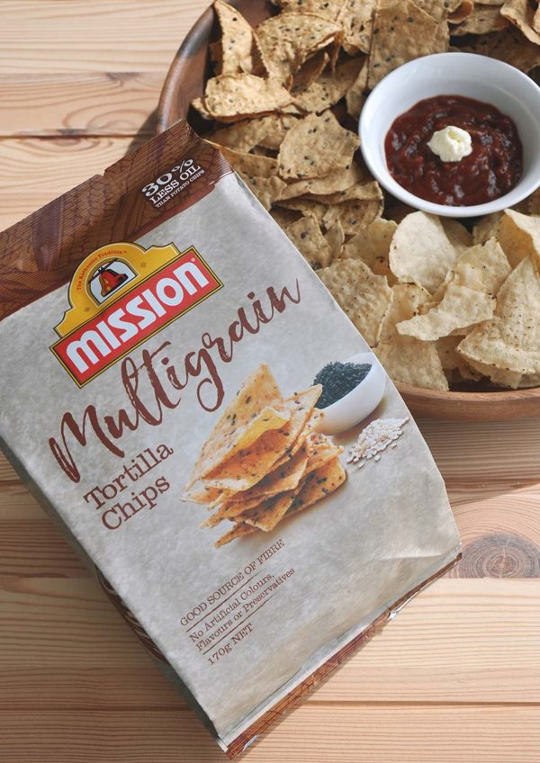 mission foods healthy tortilla chips multigrain