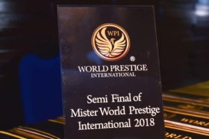 Mister World Prestige International Pageant 2018