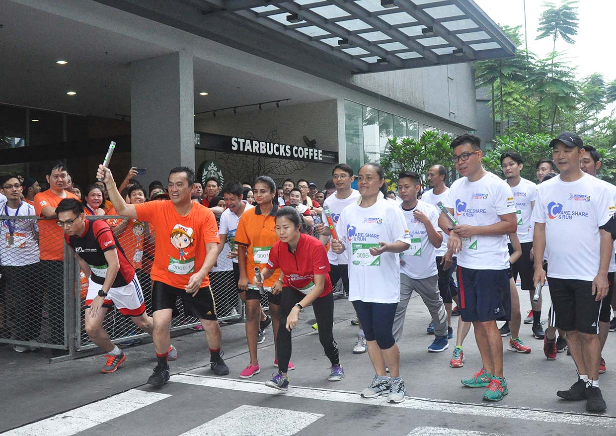 Successfully Raises Over RM100,000 @ MRCA Charity And Carnival Run 2017