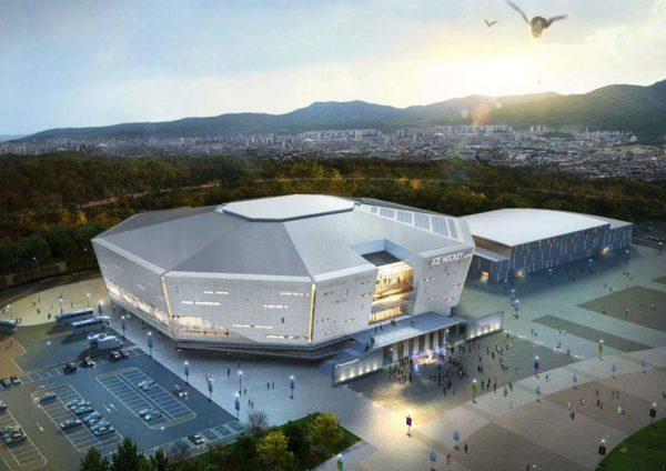 pyeongchang forum green building stadium
