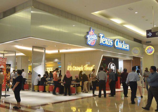 texas chicken klcc flagship restaurant tex cafe concourse floor