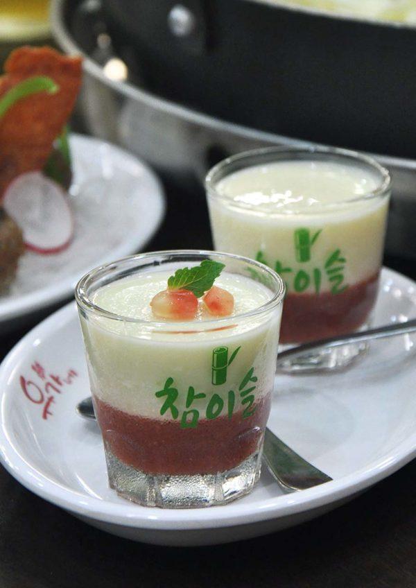 yoogane malaysia korean cuisine christmas menu dessert