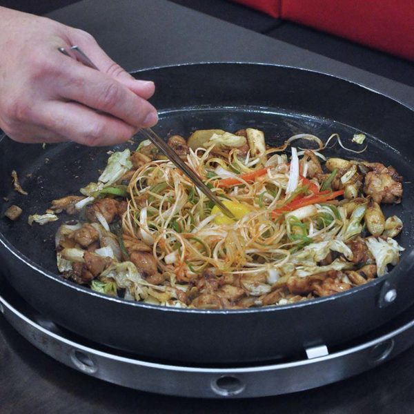 yoogane malaysia korean cuisine christmas menu honey miso chicken pan