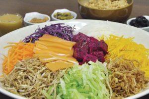 Prosperity Treasure Pot & Healthy Yee Sang @ BMS Organics
