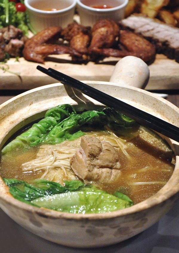 citta mall ara damansara the barn claypot bak kut teh