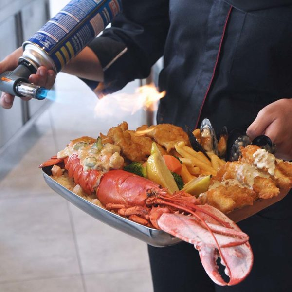 citta mall ara damansara the manhattan fish market flamed seafood platter