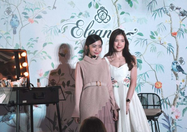 eleanor cosmetics brand sasa malaysia makeup demo