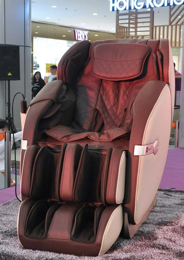gintell health wellness fair amber chia academy despace star massage chair
