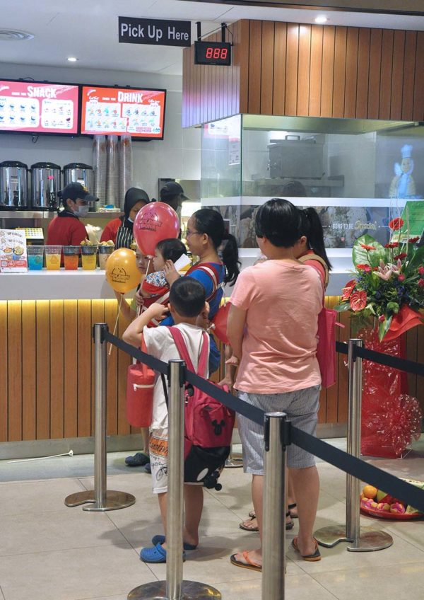 golden bons taiwanese food sunway velocity mall giveaway promotion
