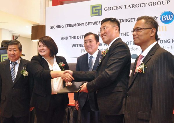 green target group best western hotels resorts signing ceremony