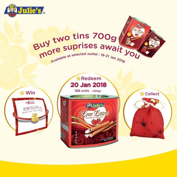 julies whats your love letter cny campaign promo