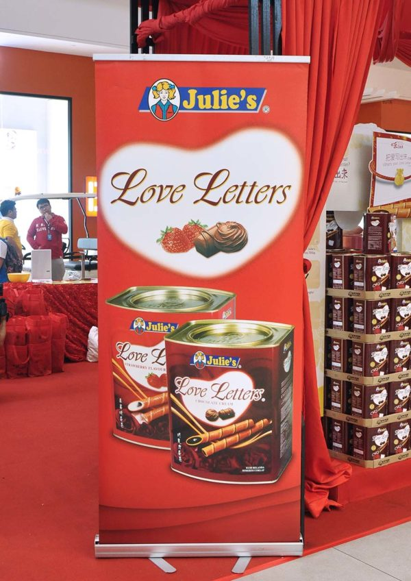 julies whats your love letter cny campaign roadshow