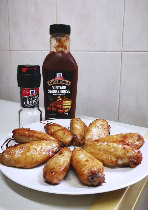 mccormick grill mates bbq sauce chicken wings recipe