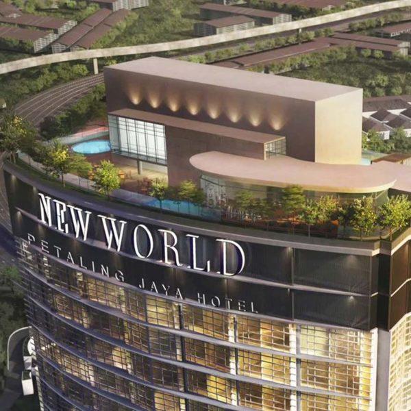 new world petaling jaya hotel rooftop infinity edge pool