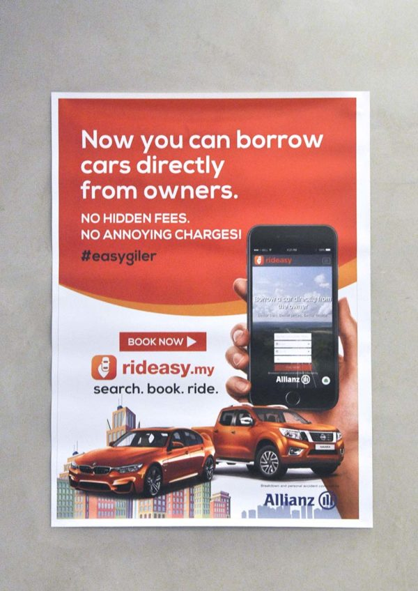 rideasy malaysia online car sharing service provider easygiler