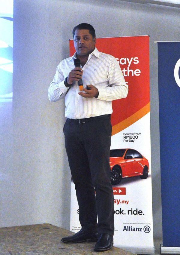 rideasy malaysia online car sharing service provider omar hatmi active telematics