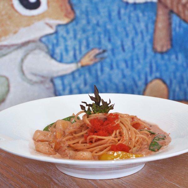 sunny queen italian cuisine sunway pyramid mentaiko shrimp pasta