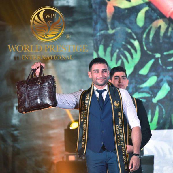 2018 mister world prestige international grand final ali afshar iran