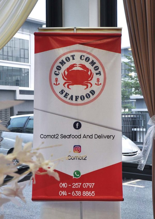 comot-comot seafood home delivery seafood feast klang valley