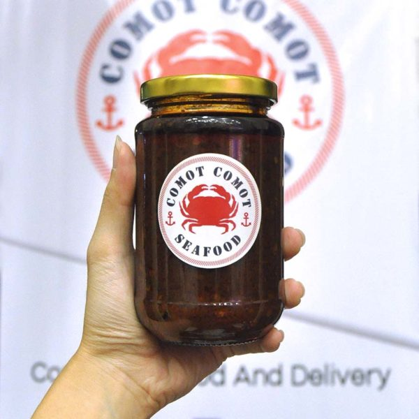 comot-comot seafood home delivery seafood feast mongolian sauce
