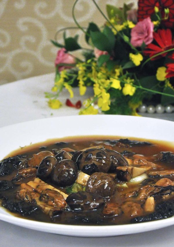 dynasty restaurant renaissance kuala lumpur hotel cny mushroom