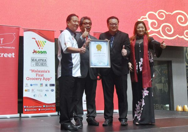 jocom malaysia book of records first grocery mobile commerce app