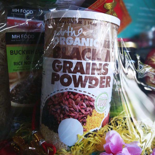 koyara healthy chinese new year hamper black multi grains powder