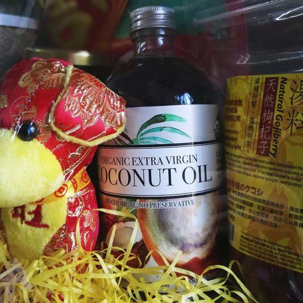 koyara healthy chinese new year hamper organic extra virgin coconut oil