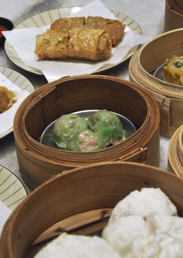 nam heong restaurant robot i-waitress dim sum